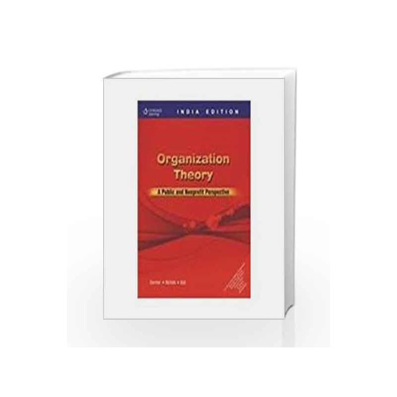 Organization Theory by Gortner Book-9788131506813