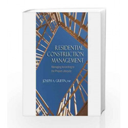 Residential Construction Management by Joseph Griffin Book-9788131522073
