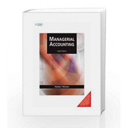 Managerial Accounting by Maryanne M. Mowen Book-9788131519417
