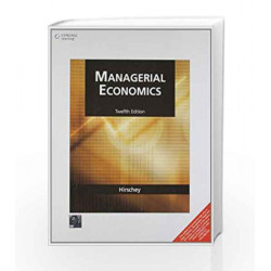 Managerial Economics by Mark Hirschey Book-9788131519424