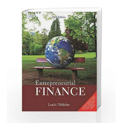 Entrepreneurial Finance by J. Chris Leach Book-9788131528235