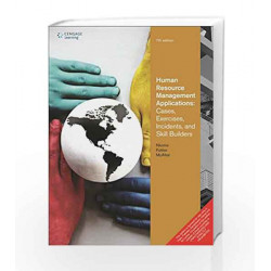 Human Resource Management Applications Cases, Exercises, Incidents and Skill Builders by MCAFEE Book-9788131520963