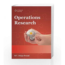 Operations Research by M.V. Durga Prasad Book-9788131516256