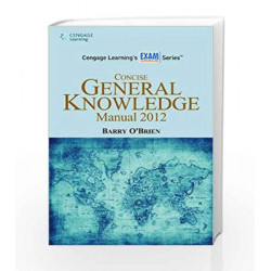 Concise General Knowledge Manual 2012 by Barry O'Brien Book-9788131515983