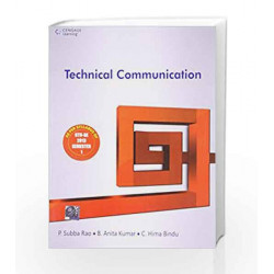 Technical Communication by P. Subba Rao Book-9788131519561