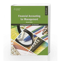 Financial Accounting for Management by H.V. Shankaranarayana Book-9788131524817