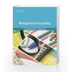 Management Accounting by H.V. Shankaranarayana Book-9788131525548