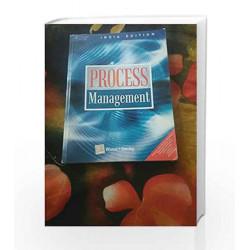 Process Management by Joel D. Wisner Book-9788131507797