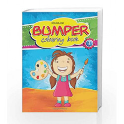 Bumper Colouring Book - 1 by Dreamland Publications Book-9789350890325