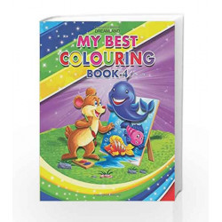 My Best Colouring Book - 4 by Dreamland Publications Book-9789350893166