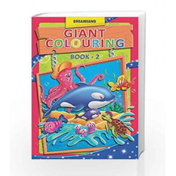 Giant Colouring - 2 by Dreamland Publications Book-9789350891254
