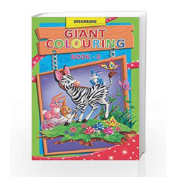 Giant Colouring - 3 by Dreamland Publications Book-9789350891261