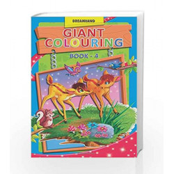 Giant Colouring - 4 by Dreamland Publications Book-9789350891278