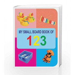 123 (My Small Board Book) by Dreamland Publications Book-9788184510836