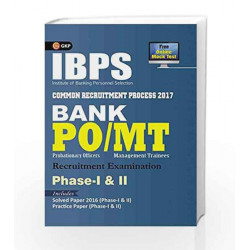 IBPS Bank PO/MT Phase I & II Guide 2017 by GKP Book-9789386860040