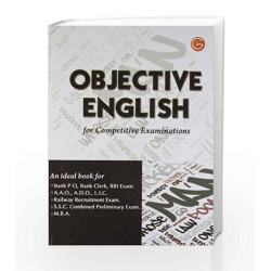 Objective English for Competitive Examinations by GKP Book-9788183556811