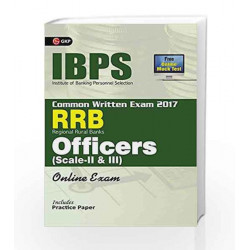 IBPS RRB-CWE Officers Scale II & III Guide 2017 by GKP Book-9789386601964