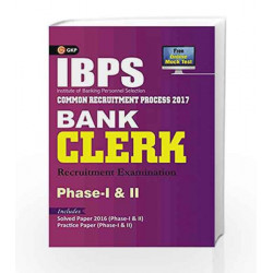 IBPS Bank Clerk Phase I & II Guide 2017 by GKP Book-9789386860071