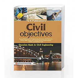 Civil Objectives by GKP Book-9789351443490