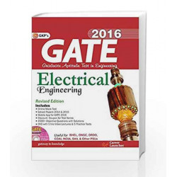 GATE Guide Electrical Engineering 2016 by GKP Book-9789351444930