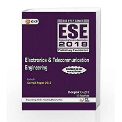 UPSC ESE 2018 Electronics & Telecommunication Engineering by GKP Book-9789386309549