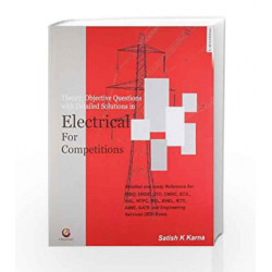 Detail Solution in Electrical for Competitions by SATISH K KARNA Book-9788175156128
