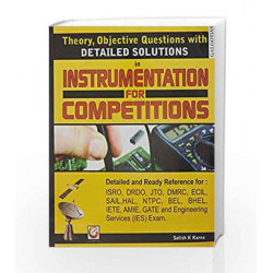 Detail Solution in Instrumentation for Competitiono by SATISH K KARNA Book-9788175156227