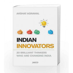 Indian Innovators by Akshat Agrawal Book-9788184956597