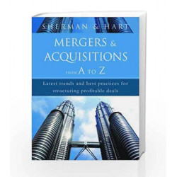Mergers & Acquisitions from A to Z by Andrew J. Sherman Book-9788184950168