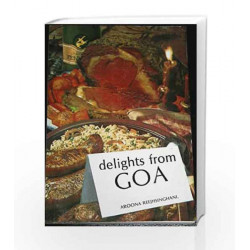 Delights from Goa by Aroona Reejhsinghani Book-9788172240783