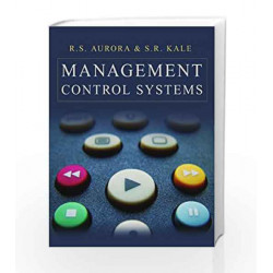 Management Control Systems by R.S. Aurora Book-9788179925898