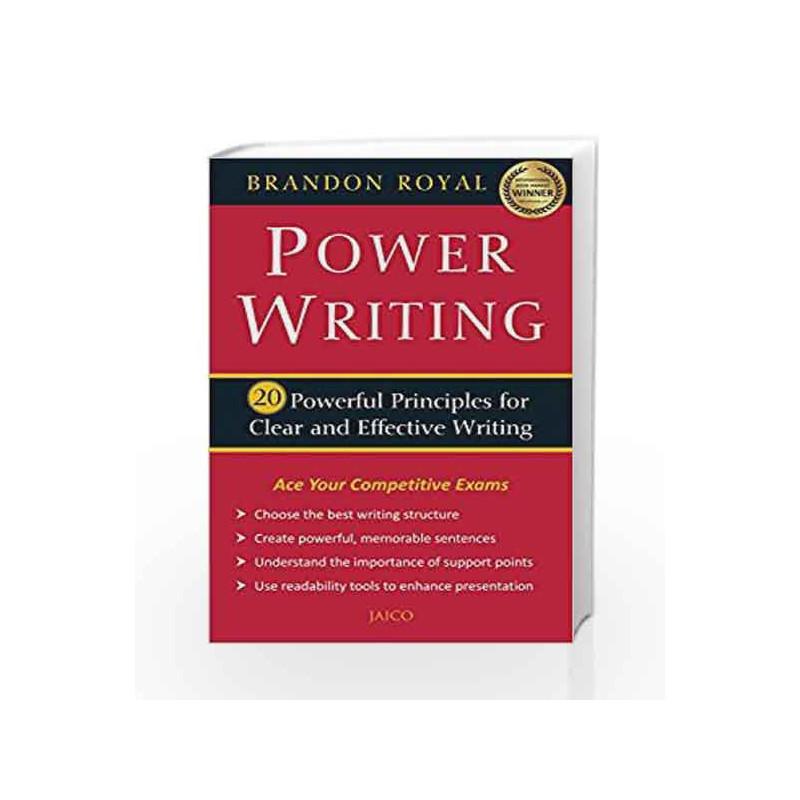 Power Writing by Brandon Royal Book-9788184957273