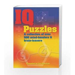 IQ Puzzles by Joe Cameron Book-9788179920695