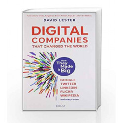 Digital Companies that Changed the World by David Lester Book-9788184953794