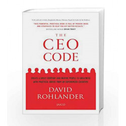 The CEO Code by DAVID ROHLANDER Book-9788184954548