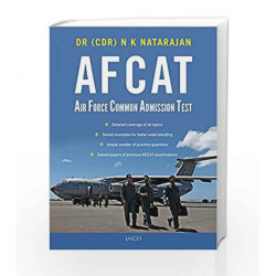 Afcat: Air Force Common Admission Test by Dr. N.K. Natarajan Book-9788184956658