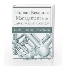 Human Resource Management in an International Context by ED . LUCAS & BEN L. Book-9788179928578