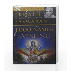 1000 Names of Vishnu by Eknath Easwaran Book-9788172245818