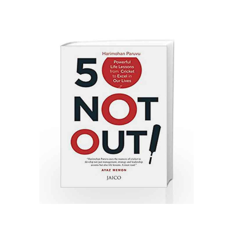 50 Not Out! by HARIMOHAN PARUVU Book-9788184956573