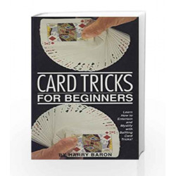 Card Tricks For Beginners by Harry Baron Book-9788172245009