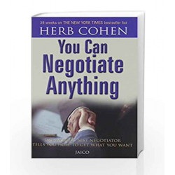 You Can Negotiate Anything by HERB COHEN Book-9788172240615