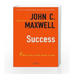Success by JOHN C. MAXWELL Book-9788184951479