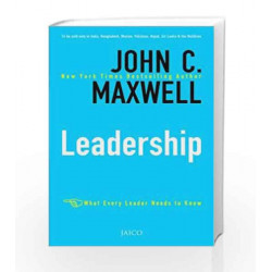Leadership by JOHN C. MAXWELL Book-9788184951486