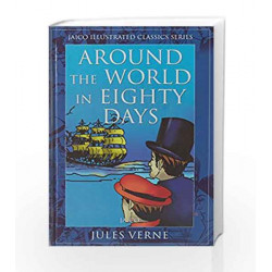Around the World in Eighty Days by JULES VERNE Book-9788172248956