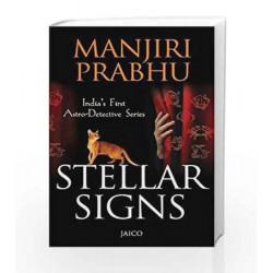 Stellar Signs by Manjir Prabhu Book-9788184954418