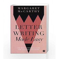 Letter Writing Made Easy by MARGARET MCCARTHY Book-9788172249762