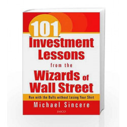 101 Investment Lessons from the Wizards of Wall Street by Michael Sincere Book-9788179928288