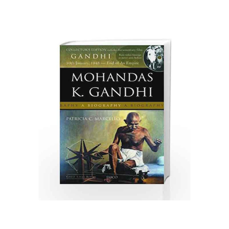 Mohandas K. Gandhi (With DVD) by PATRICIA CRONIN MARCELLO Book-9788184950472