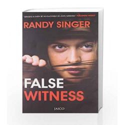 False Witness by RANDY SINGER Book-9788184955651