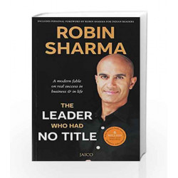 The Leader Who Had No Title by ROBIN SHARMA Book-9788184951196